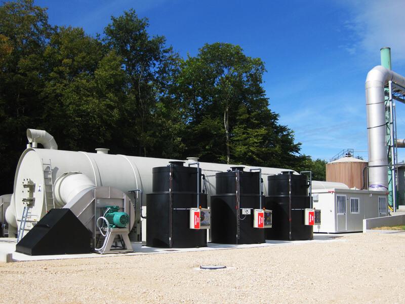 Cuve verticale TC innov, anciennement TC Plastic, spécialiste en chaudronnerie plastique